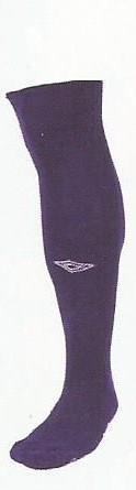 Diamond socks purple