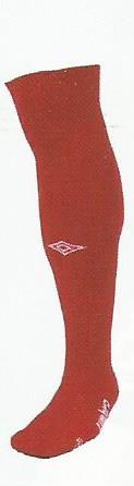 Diamond socks red